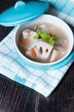 Sopa deliciosa de la carne Fotografía de archivo libre de regalías