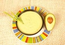 Sopa do abacate Fotos de Stock