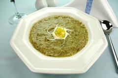 Sopa do aipo Imagem de Stock
