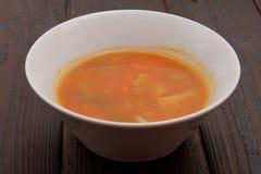 Sopa do aipo com vegetais Imagens de Stock Royalty Free