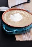 Sopa do alho-porro da batata Fotos de Stock