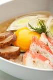 Sopa do arroz Foto de Stock Royalty Free