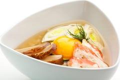 Sopa do arroz Imagem de Stock