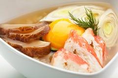 Sopa do arroz Imagens de Stock Royalty Free
