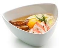 Sopa do arroz Fotografia de Stock