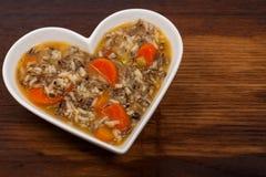 Sopa do arroz selvagem Foto de Stock Royalty Free