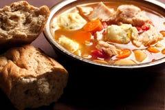 Sopa do bolinho de massa de Turquia foto de stock royalty free