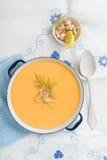 Sopa do camarão fotos de stock