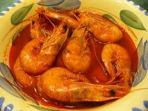 Sopa do camarão Imagem de Stock Royalty Free