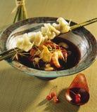 Sopa do camarão imagens de stock royalty free