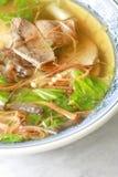 Sopa do fígado da carne de porco Fotos de Stock
