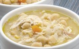 Sopa do grão-de-bico Foto de Stock Royalty Free