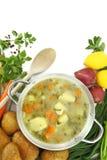 Sopa do legume fresco Imagens de Stock