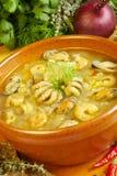 Sopa do marisco Imagens de Stock