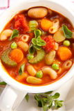 Sopa do Minestrone Foto de Stock Royalty Free