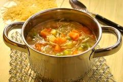Sopa do Minestrone Foto de Stock Royalty Free