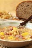 Sopa do repolho Imagem de Stock
