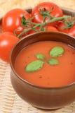Sopa do tomate imagens de stock
