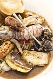 Sopa dos peixes foto de stock royalty free