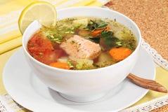Sopa dos peixes Foto de Stock