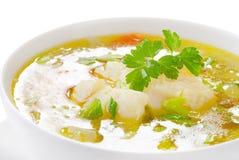 Sopa dos peixes Fotos de Stock Royalty Free