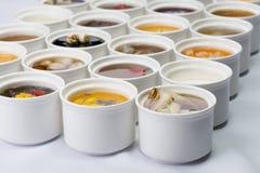 Sopa dulce mezclada fotografía de archivo libre de regalías