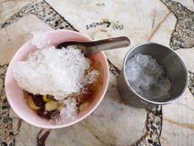 Sopa dulce tradicional tailandesa Fotografía de archivo libre de regalías