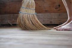 sopa för golv Royaltyfria Foton