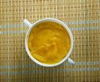 Sopa finlandesa de la calabaza Fotos de archivo