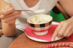 Sopa francesa da cebola imagens de stock royalty free