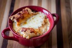 Sopa francesa da cebola Foto de Stock Royalty Free