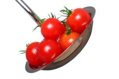 Sopa fresca del tomate Fotografía de archivo