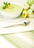 Sopa fresca do melão Fotografia de Stock Royalty Free