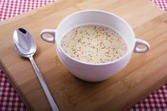 Sopa holandesa de Mustartd foto de archivo libre de regalías