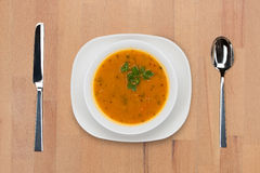 Sopa indiana do Dal Fotografia de Stock Royalty Free