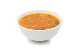 Sopa isolada no branco imagem de stock royalty free