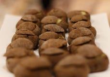 Sopa juliana en pan recientemente cocido Fotografía de archivo