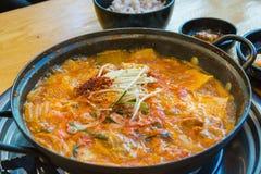 Sopa macia do tofu foto de stock royalty free
