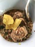Sopa picante da entrecosto de porco da carne de porco Imagem de Stock
