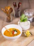 Sopa picante do caranguejo Imagens de Stock Royalty Free