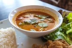 Sopa picante tailandesa Foto de archivo libre de regalías
