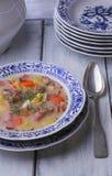 Sopa polonesa de Zurek Imagem de Stock