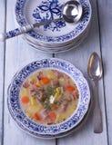 Sopa polonesa de Zurek Fotos de Stock