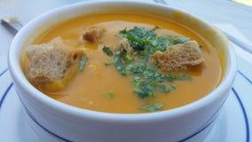 Sopa portuguesa dos peixes Fotos de Stock