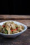 Sopa quente e picante com reforços de carne de porco Fotografia de Stock Royalty Free