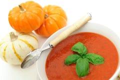 Sopa saudável do tomate Imagens de Stock