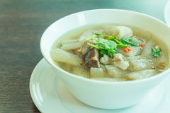 Sopa tailandesa Foto de Stock
