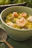 Sopa tailandesa del camarón Imagenes de archivo