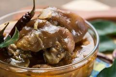 Sopa tailandesa do pé da carne de porco Fotos de Stock Royalty Free