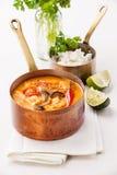 Sopa tailandesa picante Tom Yam Imagen de archivo